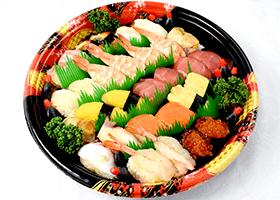 上握り寿司盛り合わせプレート